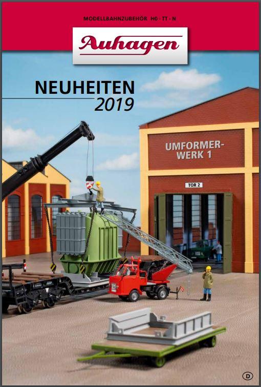 Auhagen újdonságlap